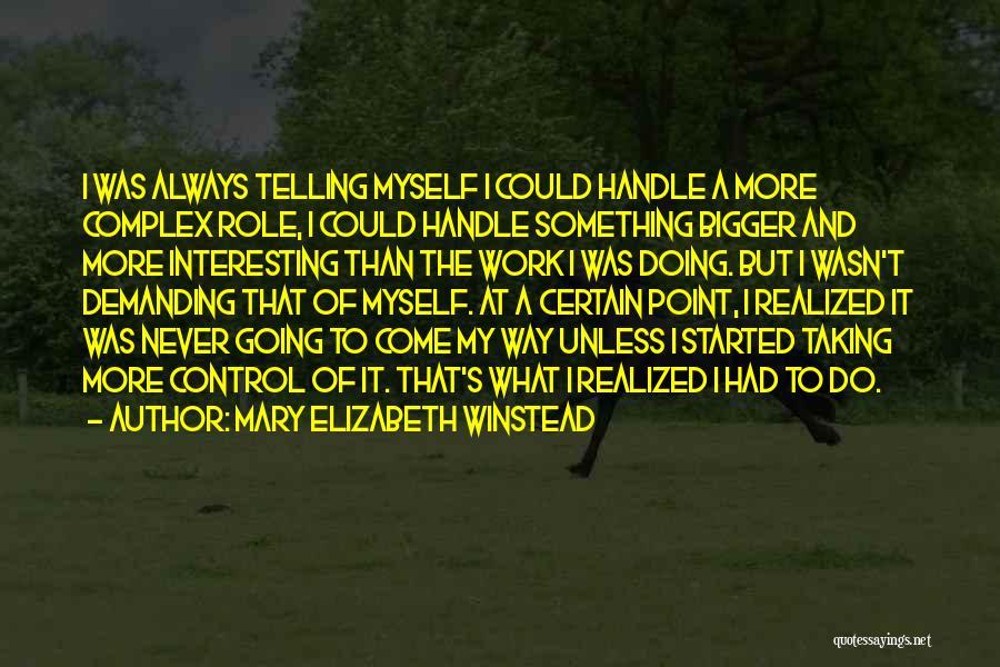 Mary Elizabeth Winstead Quotes 1570848
