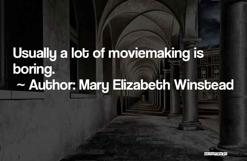 Mary Elizabeth Winstead Quotes 1599911