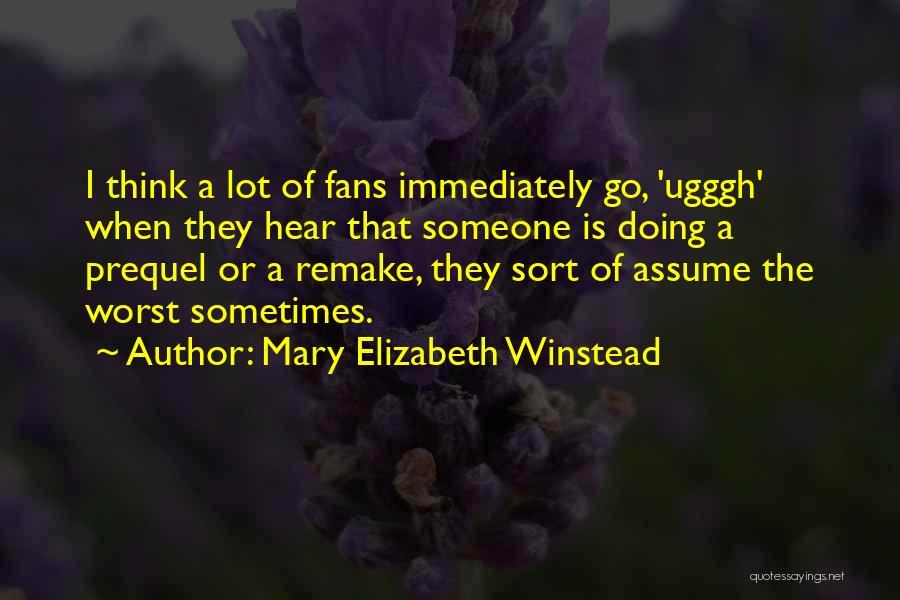 Mary Elizabeth Winstead Quotes 2082734