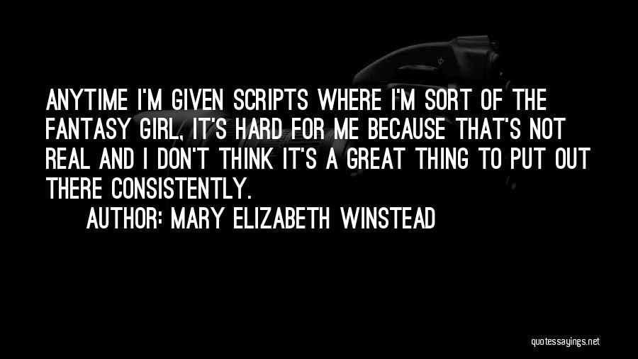 Mary Elizabeth Winstead Quotes 2216193