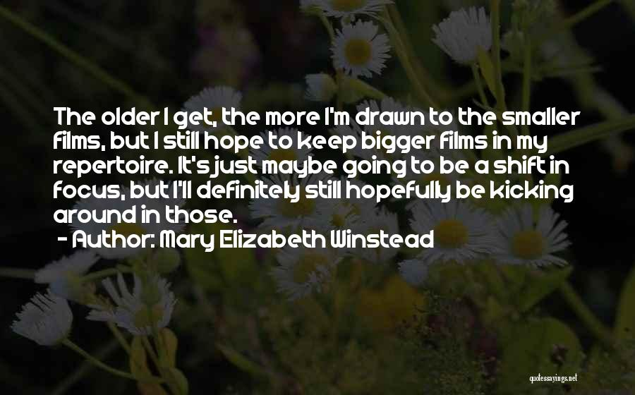 Mary Elizabeth Winstead Quotes 359127