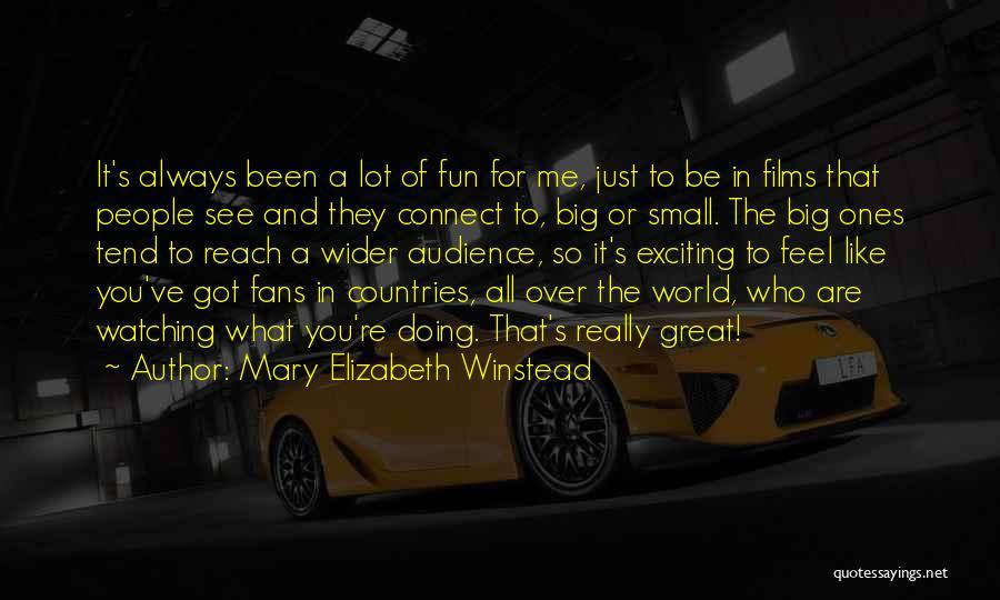 Mary Elizabeth Winstead Quotes 768974