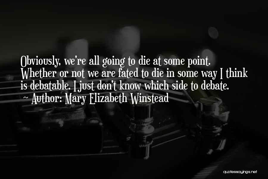 Mary Elizabeth Winstead Quotes 799695