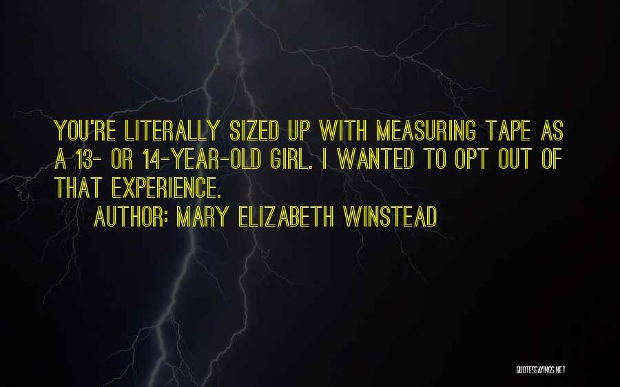 Mary Elizabeth Winstead Quotes 895216