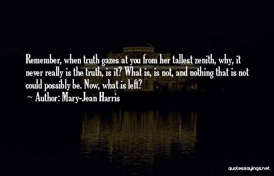 Mary-Jean Harris Quotes 1027663