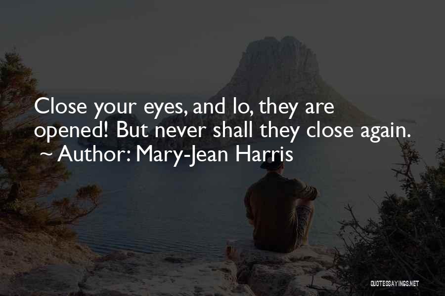 Mary-Jean Harris Quotes 1969189