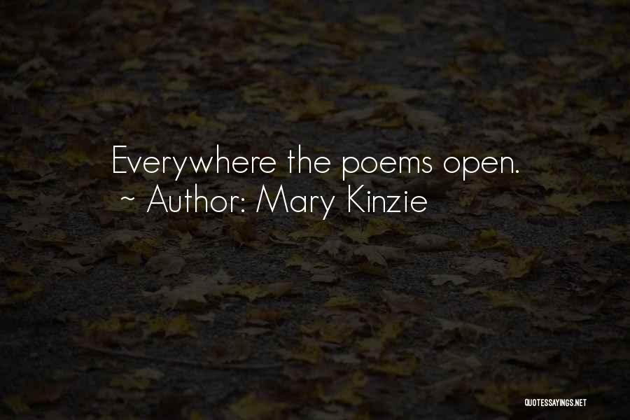 Mary Kinzie Quotes 1684720