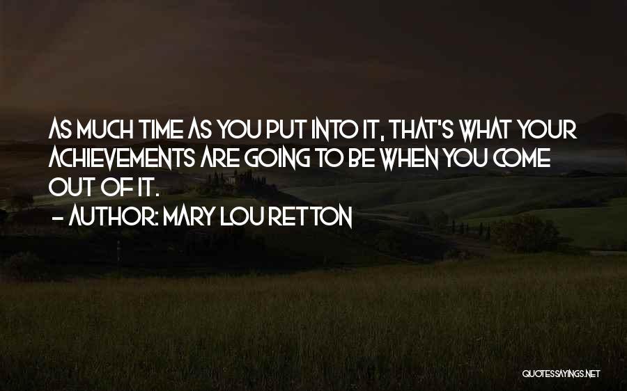 Mary Lou Retton Quotes 740220