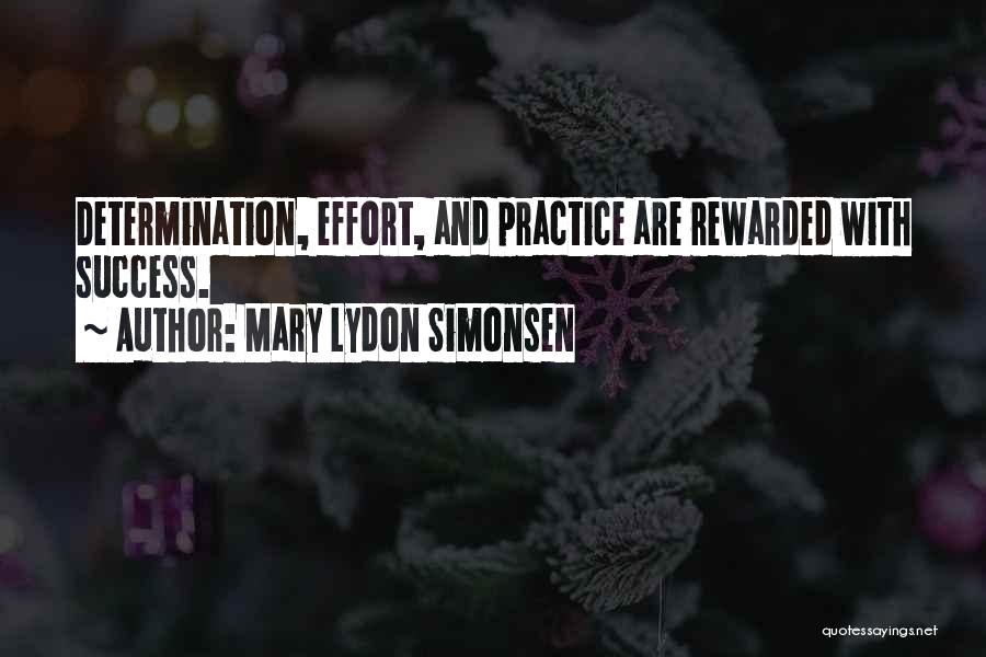 Mary Lydon Simonsen Quotes 1278713