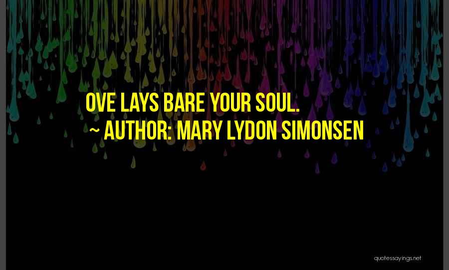 Mary Lydon Simonsen Quotes 1331678