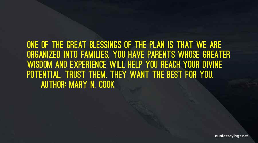 Mary N. Cook Quotes 1593559