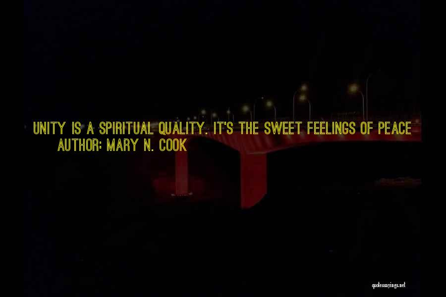 Mary N. Cook Quotes 1848889