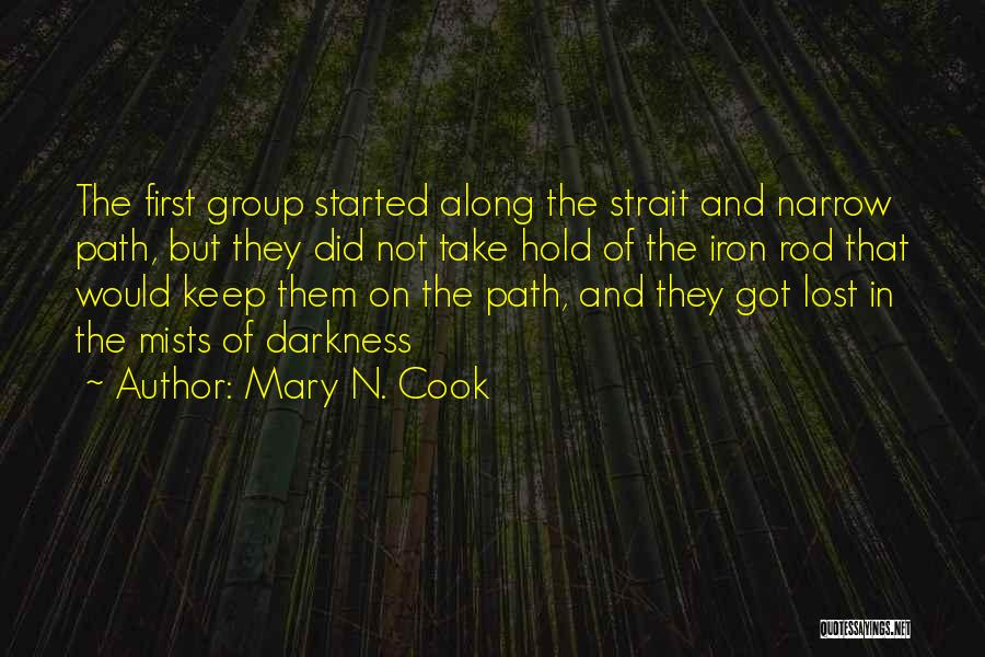Mary N. Cook Quotes 860107