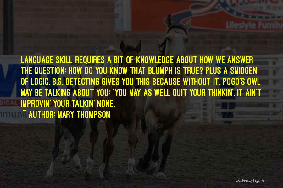 Mary Thompson Quotes 91137
