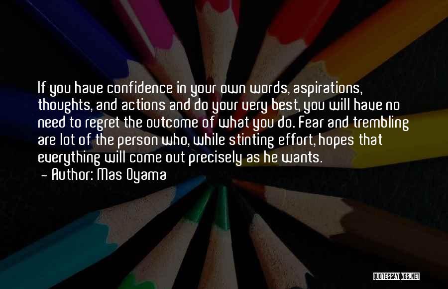 Mas Oyama Quotes 1017365