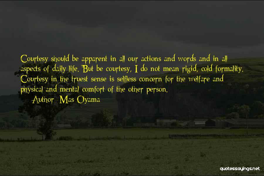 Mas Oyama Quotes 1205242