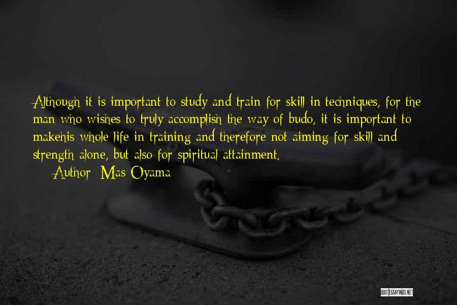 Mas Oyama Quotes 1560206