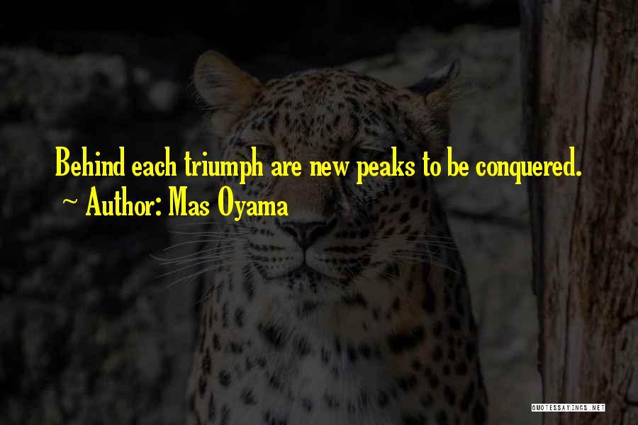 Mas Oyama Quotes 279876