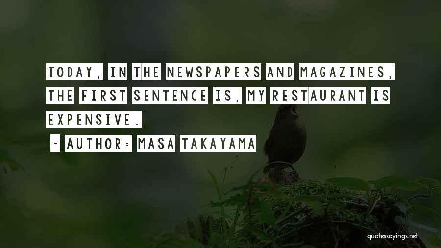 Masa Takayama Quotes 539625