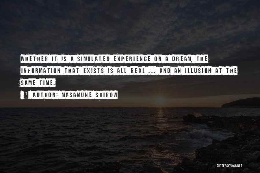 Masamune Shirow Quotes 351299