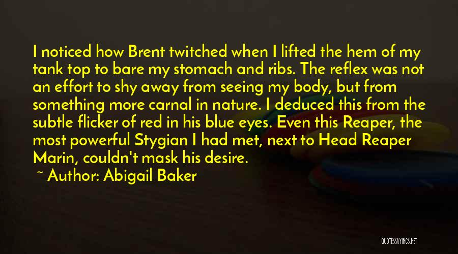 Mask Quotes By Abigail Baker
