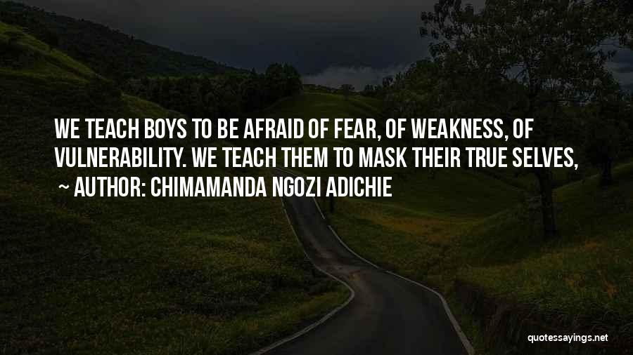 Mask Quotes By Chimamanda Ngozi Adichie
