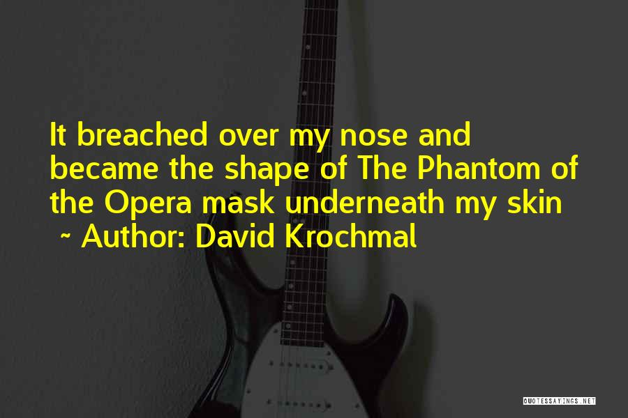 Mask Quotes By David Krochmal