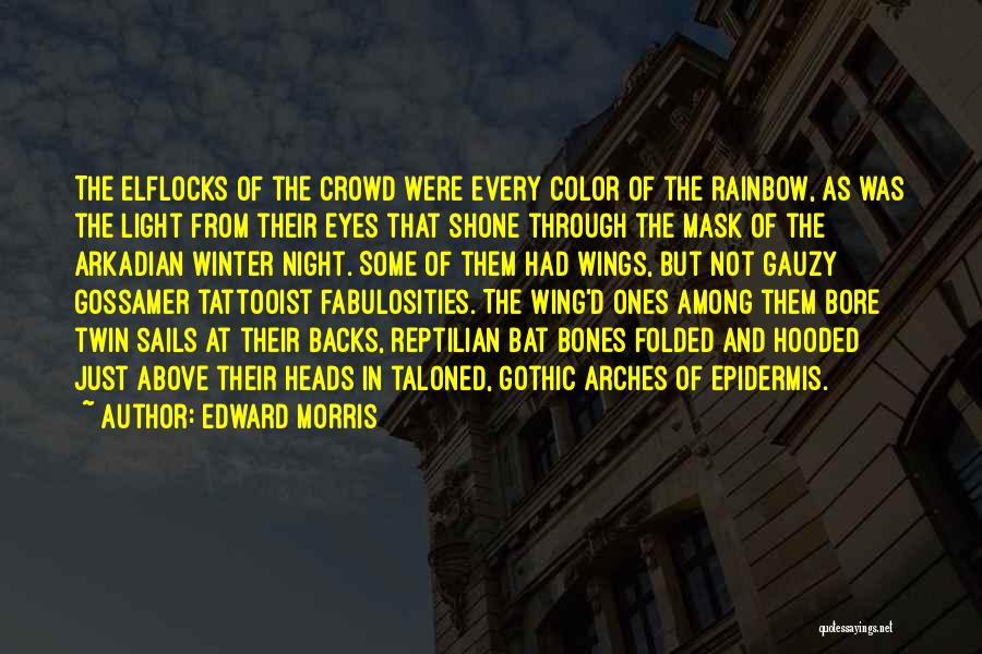 Mask Quotes By Edward Morris