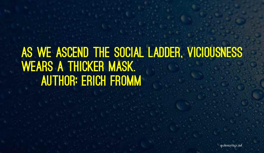 Mask Quotes By Erich Fromm