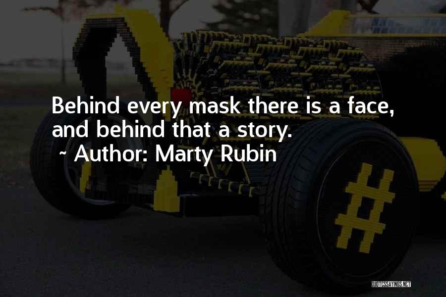 Mask Quotes By Marty Rubin