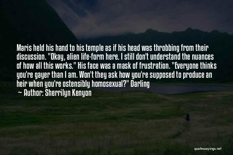 Mask Quotes By Sherrilyn Kenyon