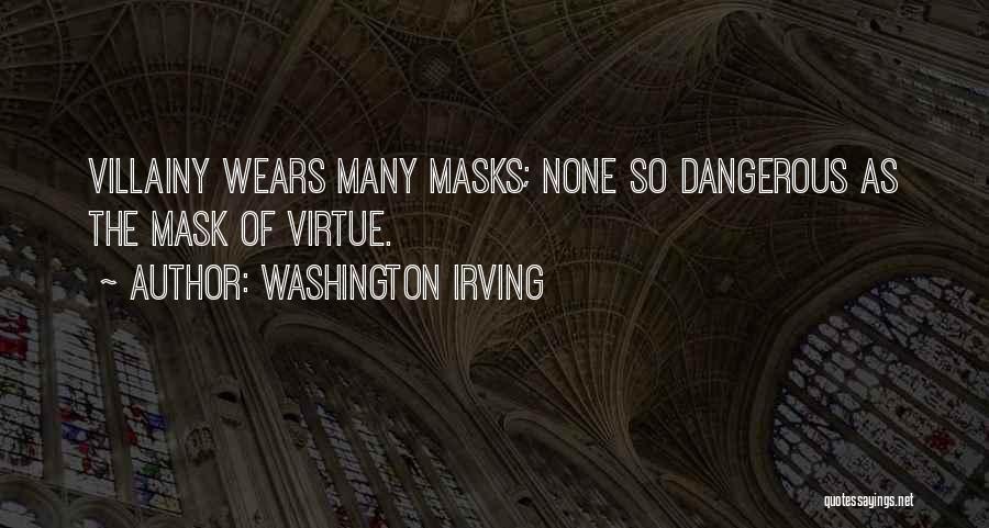 Mask Quotes By Washington Irving