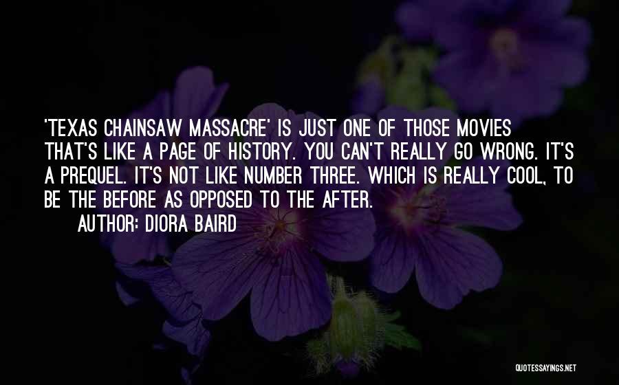 Massacre Quotes By Diora Baird