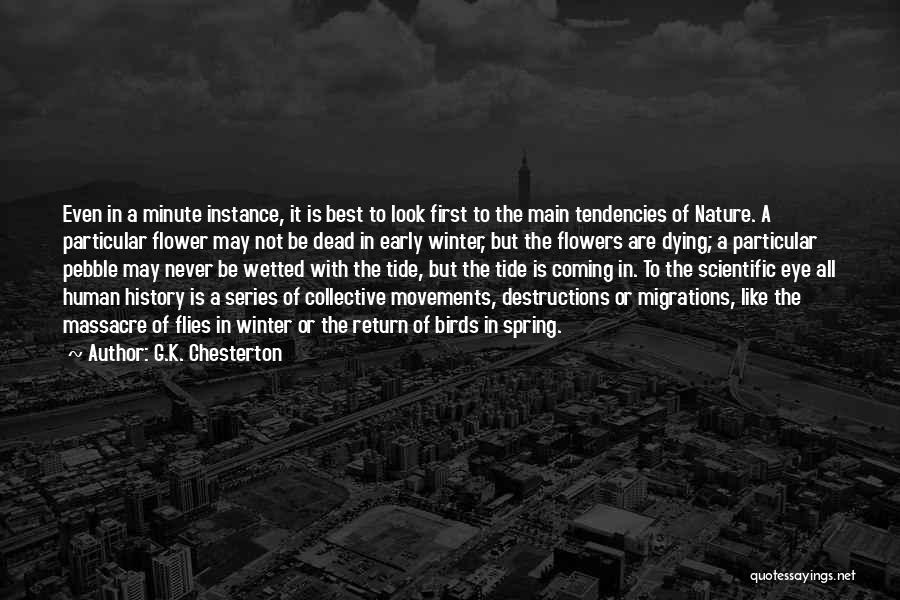 Massacre Quotes By G.K. Chesterton