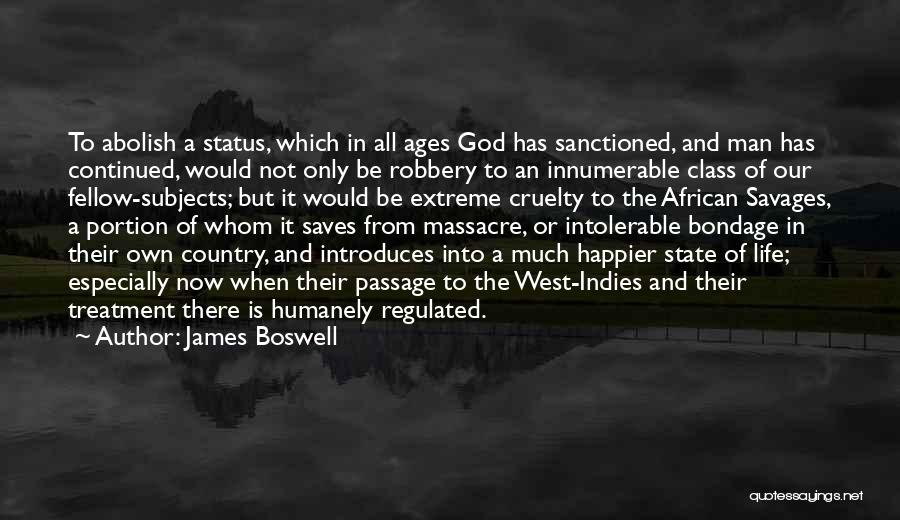Massacre Quotes By James Boswell