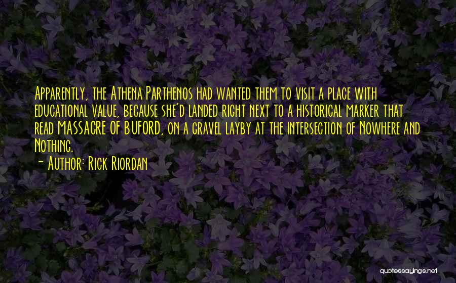 Massacre Quotes By Rick Riordan