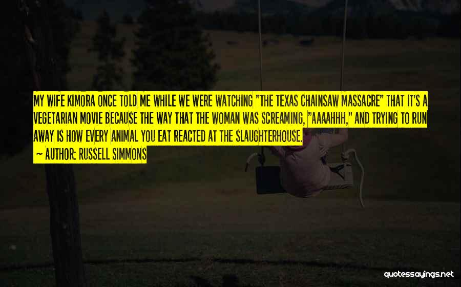 Massacre Quotes By Russell Simmons