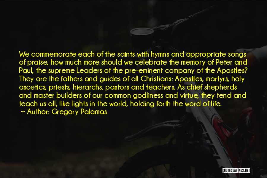 Master Chief Quotes By Gregory Palamas