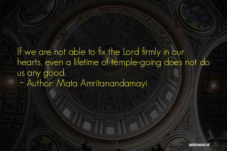 Mata Amritanandamayi Quotes 1975637