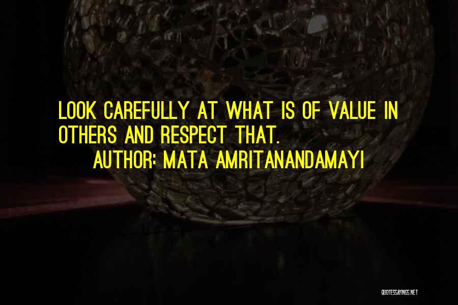Mata Amritanandamayi Quotes 281737