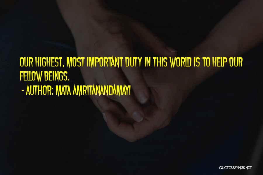 Mata Amritanandamayi Quotes 81143
