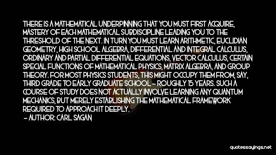 Mathematical Equations Quotes By Carl Sagan