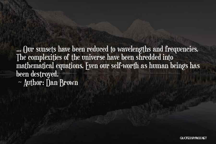 Mathematical Equations Quotes By Dan Brown