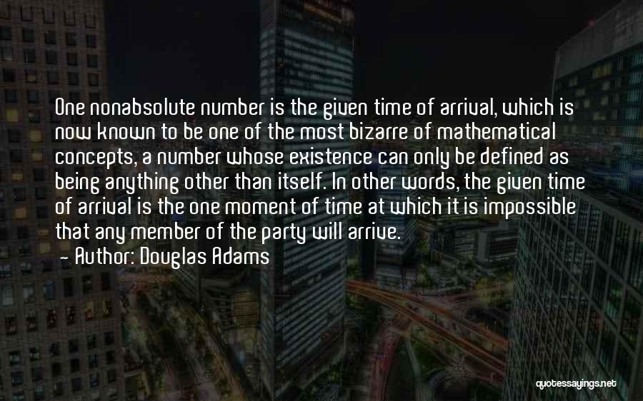 Mathematical Equations Quotes By Douglas Adams