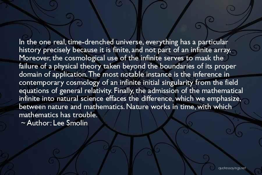 Mathematical Equations Quotes By Lee Smolin