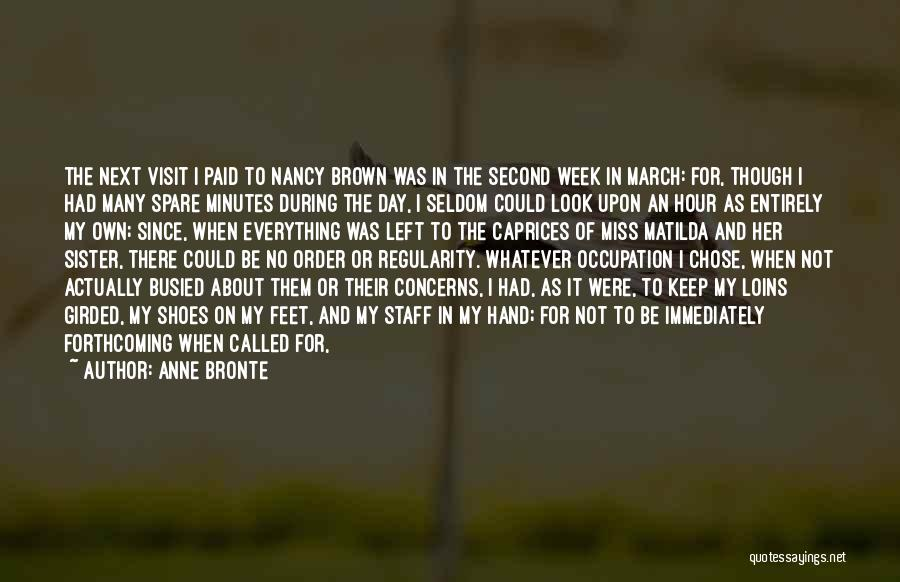 Matilda Quotes By Anne Bronte
