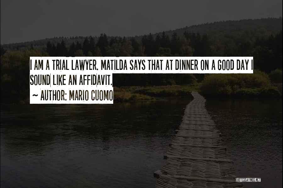 Matilda Quotes By Mario Cuomo
