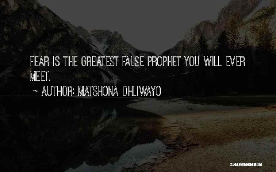 Matshona Dhliwayo Quotes 1001936
