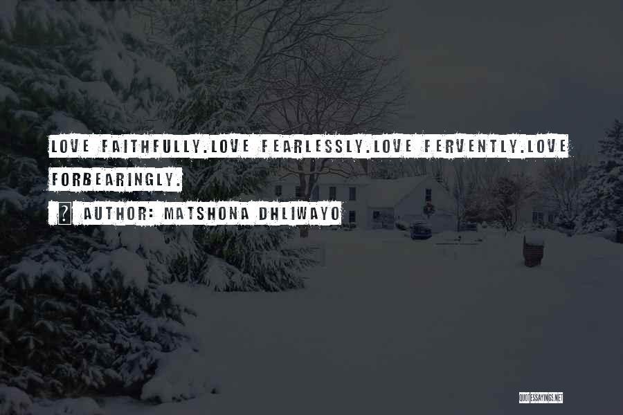Matshona Dhliwayo Quotes 109952