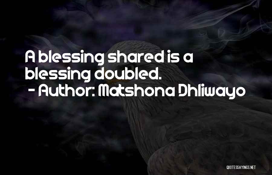 Matshona Dhliwayo Quotes 1173846